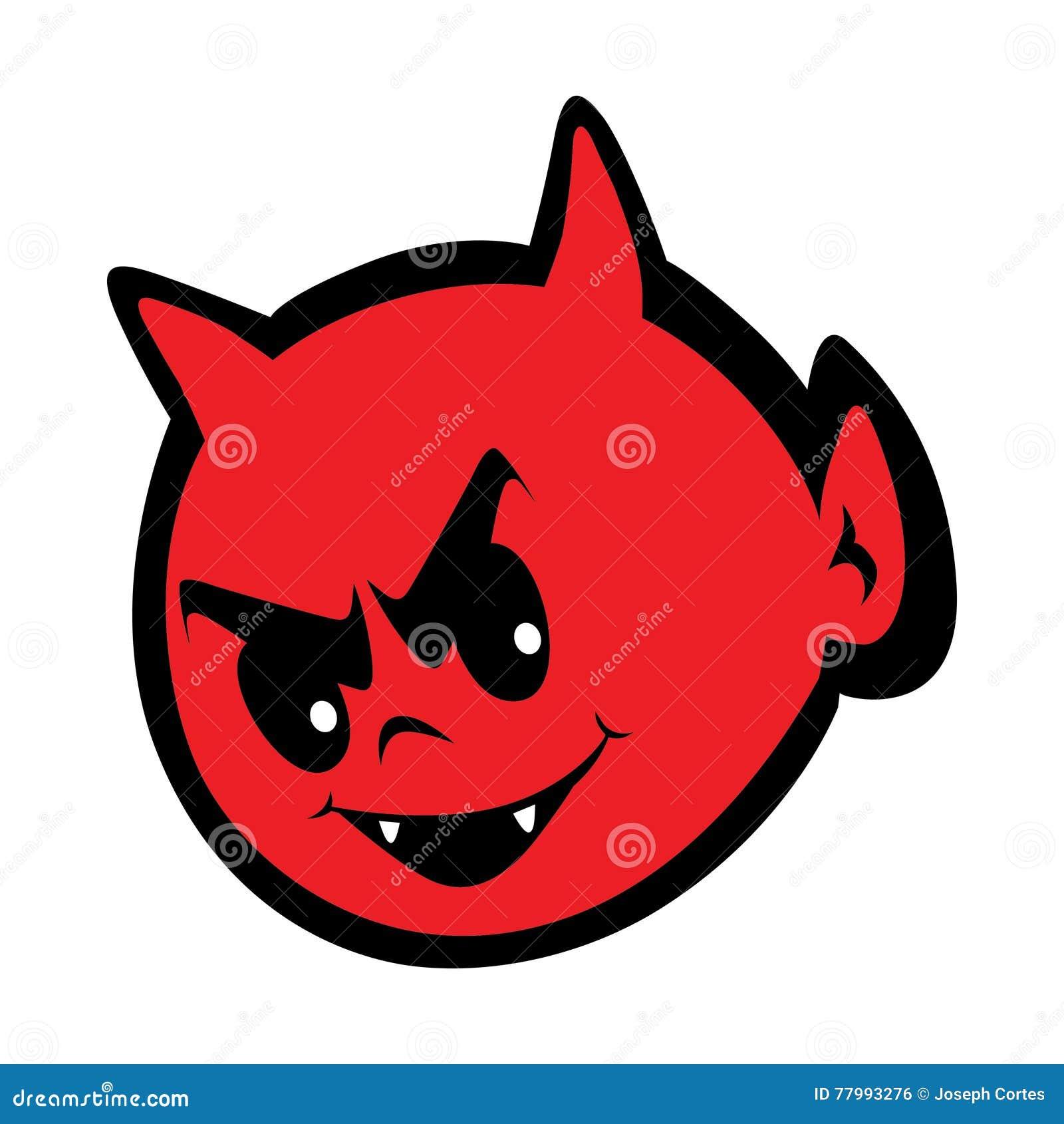Petite illustration mignonne du diable ENV
