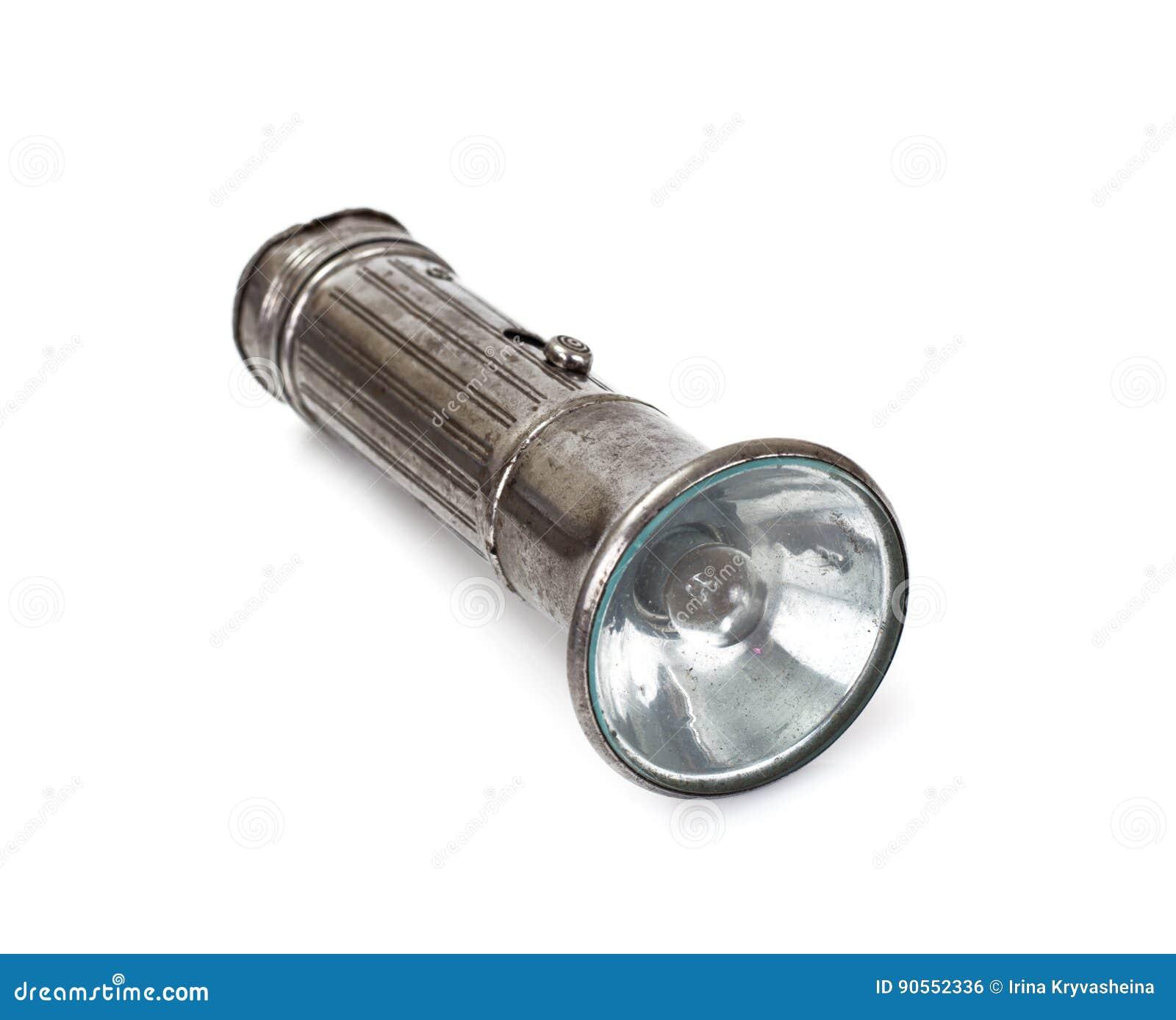 Petite Lampe Torche Antique Photo Stock Image Du Ampoule
