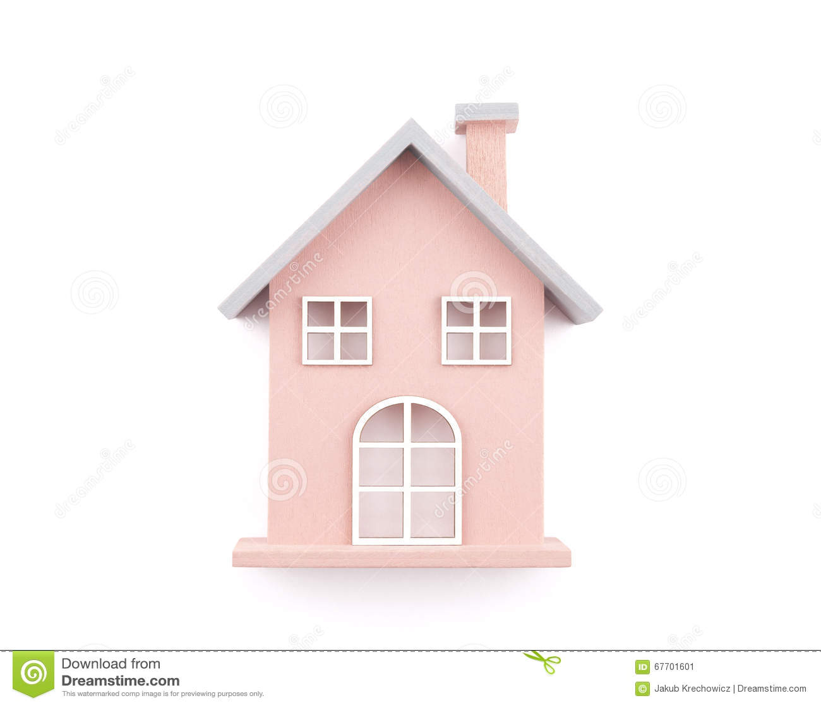 Petite Maison En Bois De Jouet Image Stock Image Du Maison