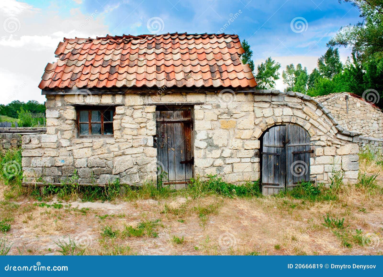 Petite maison historique ukrainienne images libres de droits image 20666819 - Architecture petite maison ...