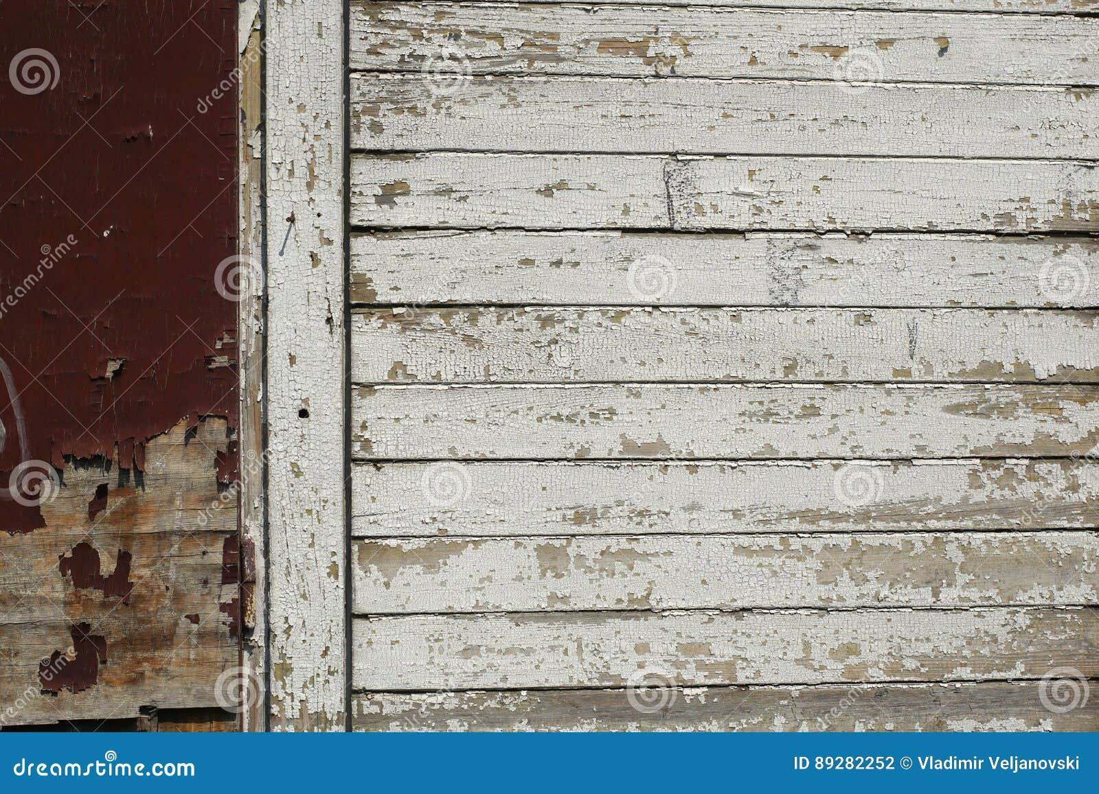 Petite pièce de vieille barrière sale