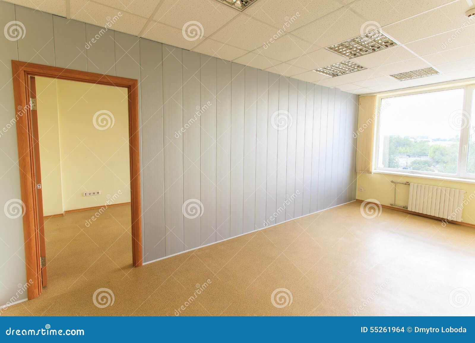 Petite pièce vide de bureau photo stock image du affaires vide
