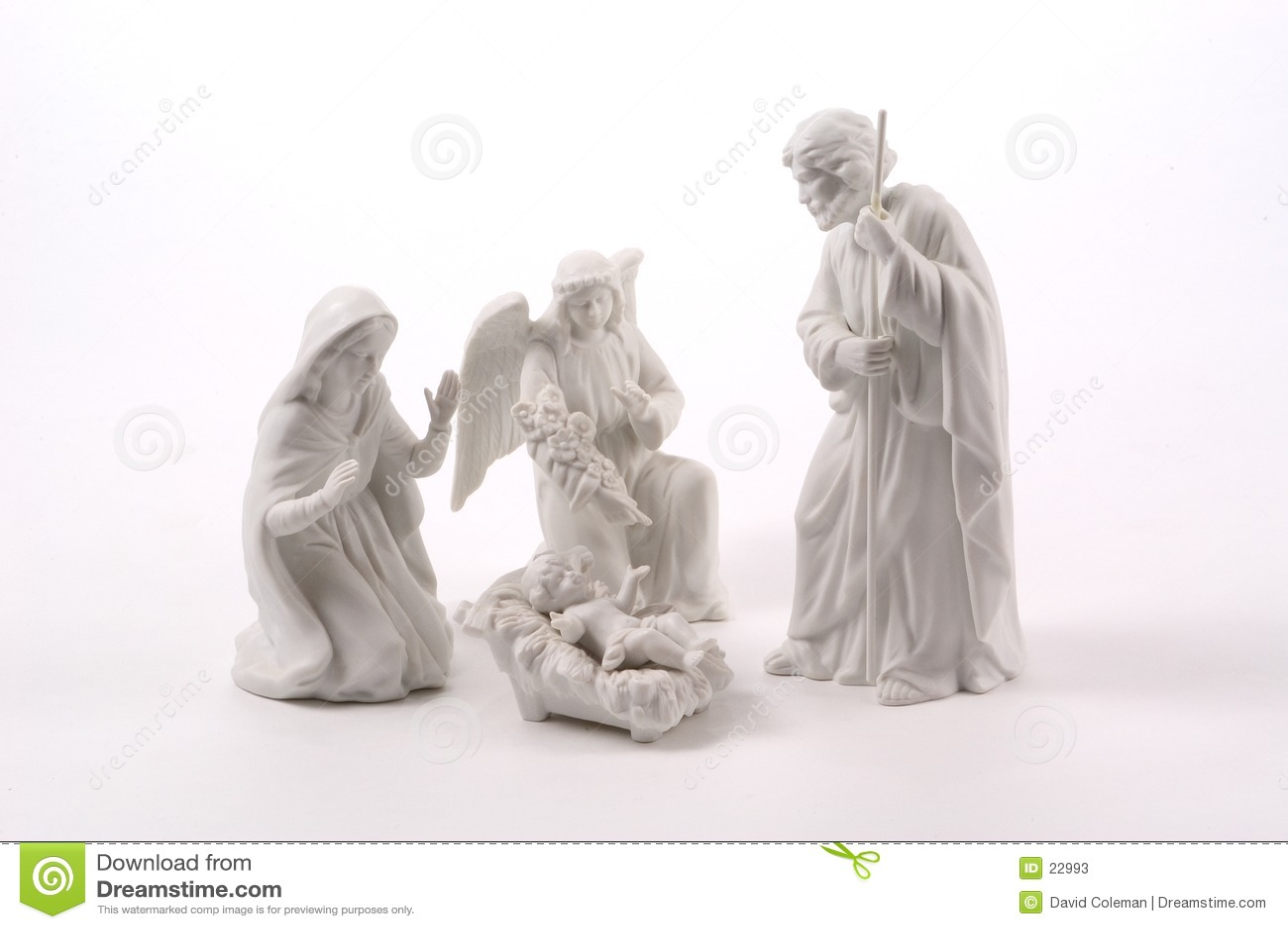 Petite scène de nativité