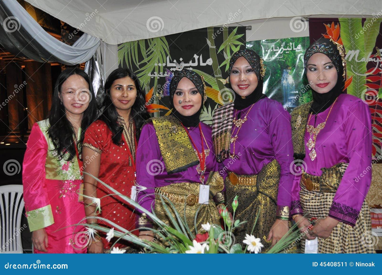 Petites femmes de Malaysian du monde