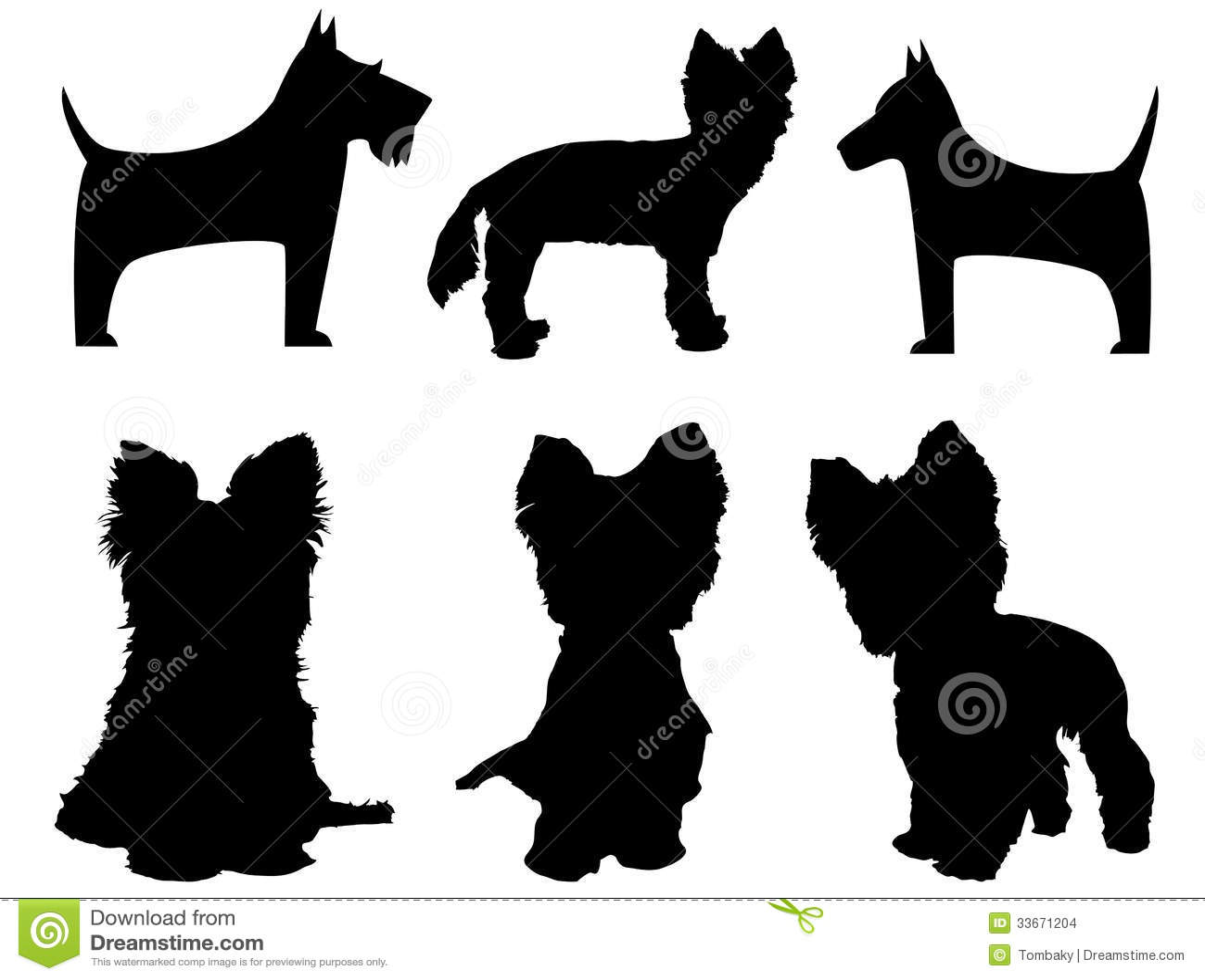 yorkshire terrier cartoon