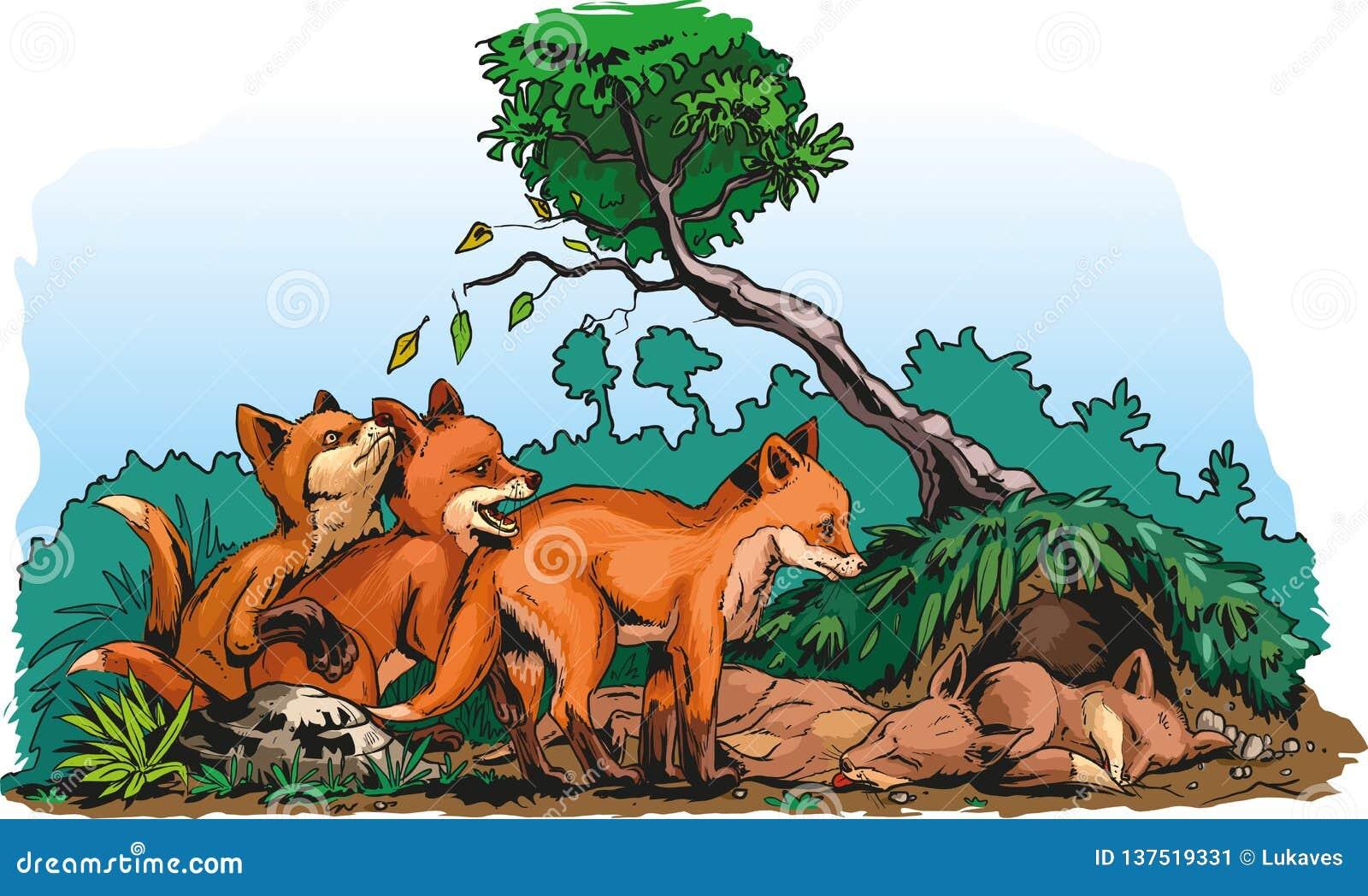 Petits animaux de Redfox