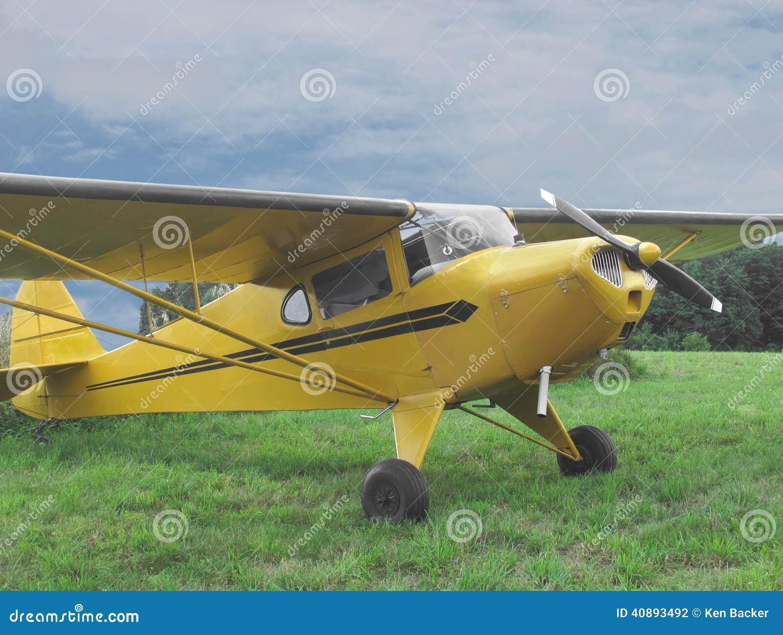 Petits avions privés de vintage