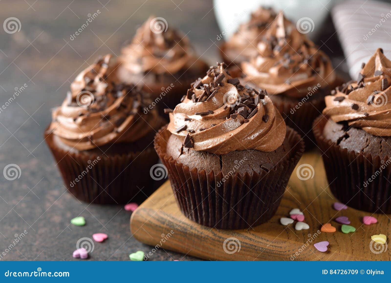 Petits gâteaux de chocolat