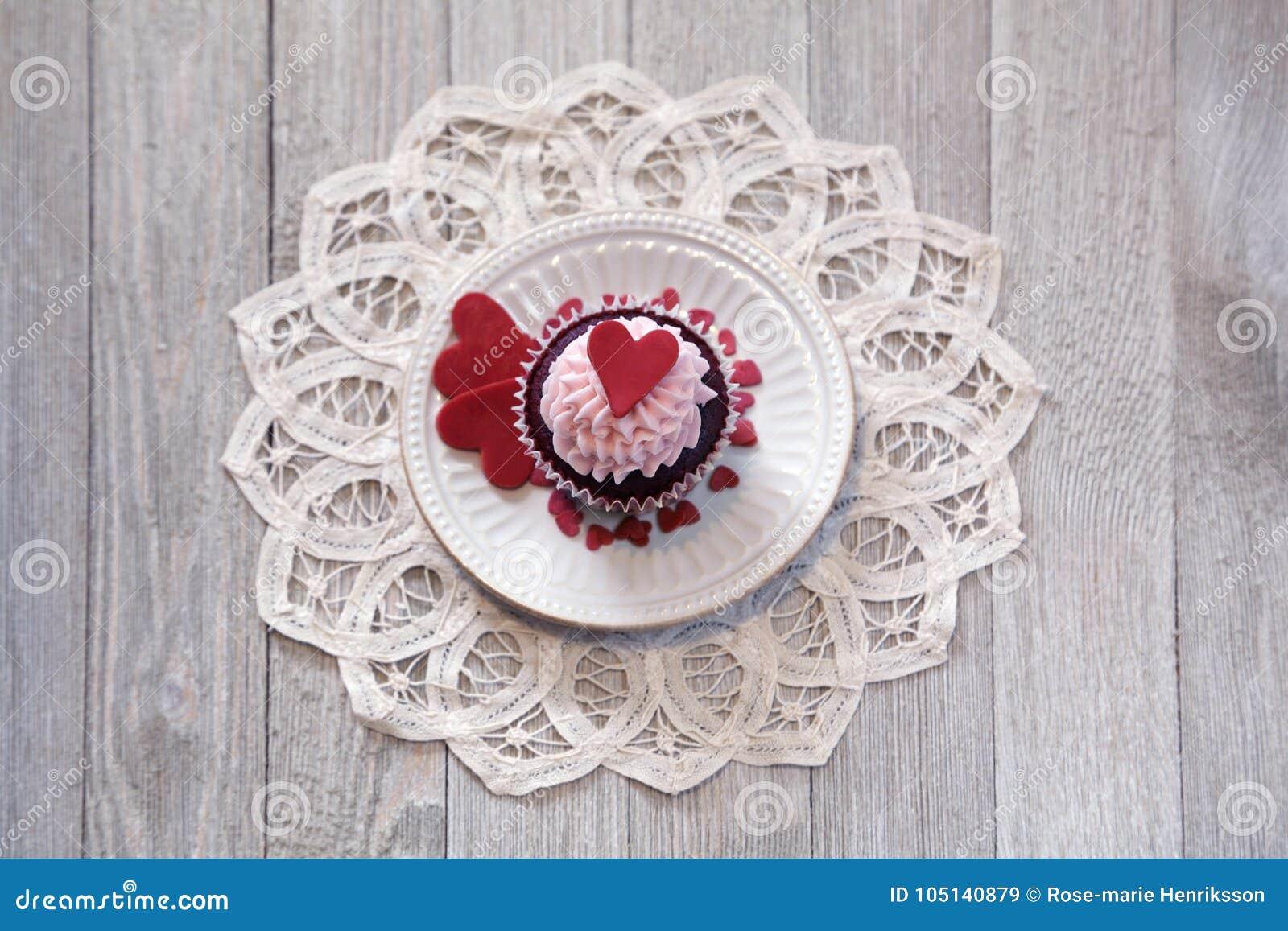 Petits gâteaux pour le jour du ` s de Valentine