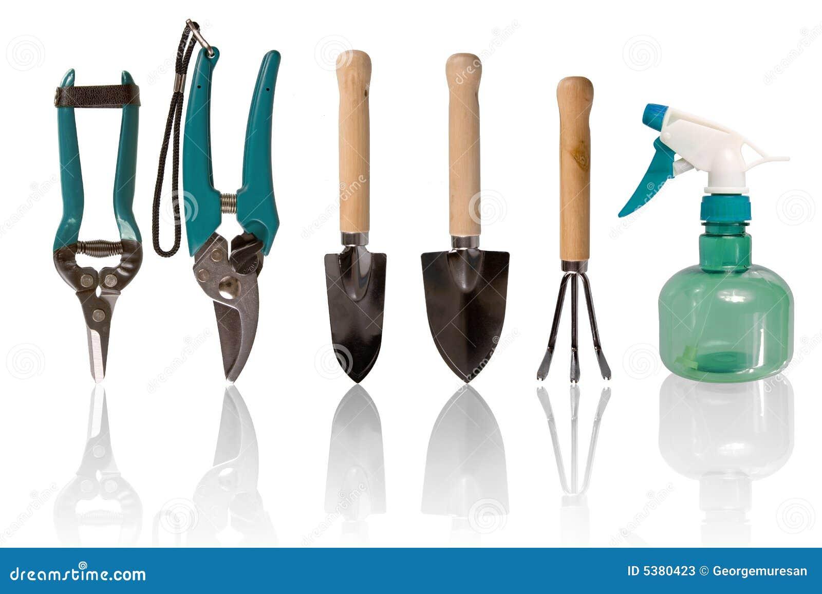 petits outils de jardinage photos stock image 5380423