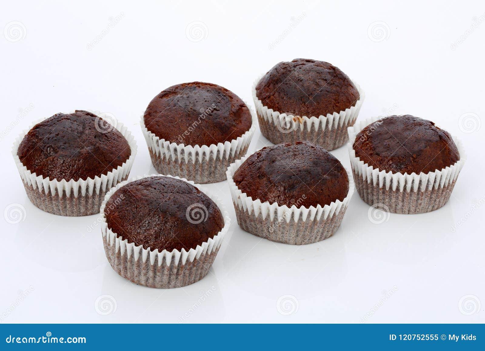 Petits pains, petits gâteaux de chocolat, d isolement