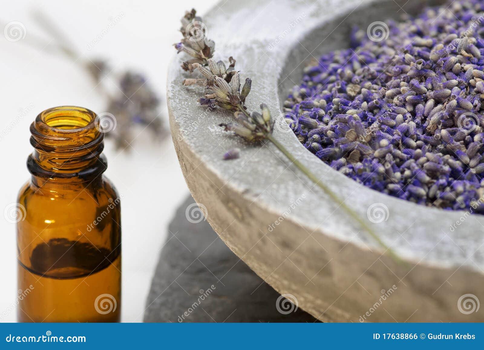 Petróleo de lavanda de los productos del cuidado de la salud