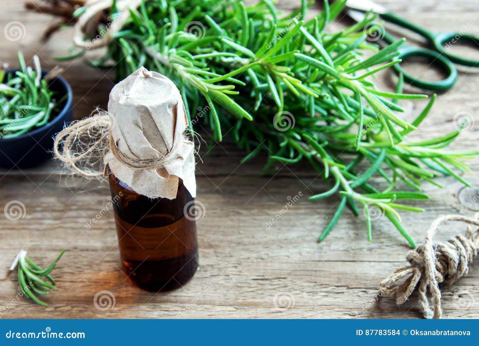 Petróleo esencial de Rosemary