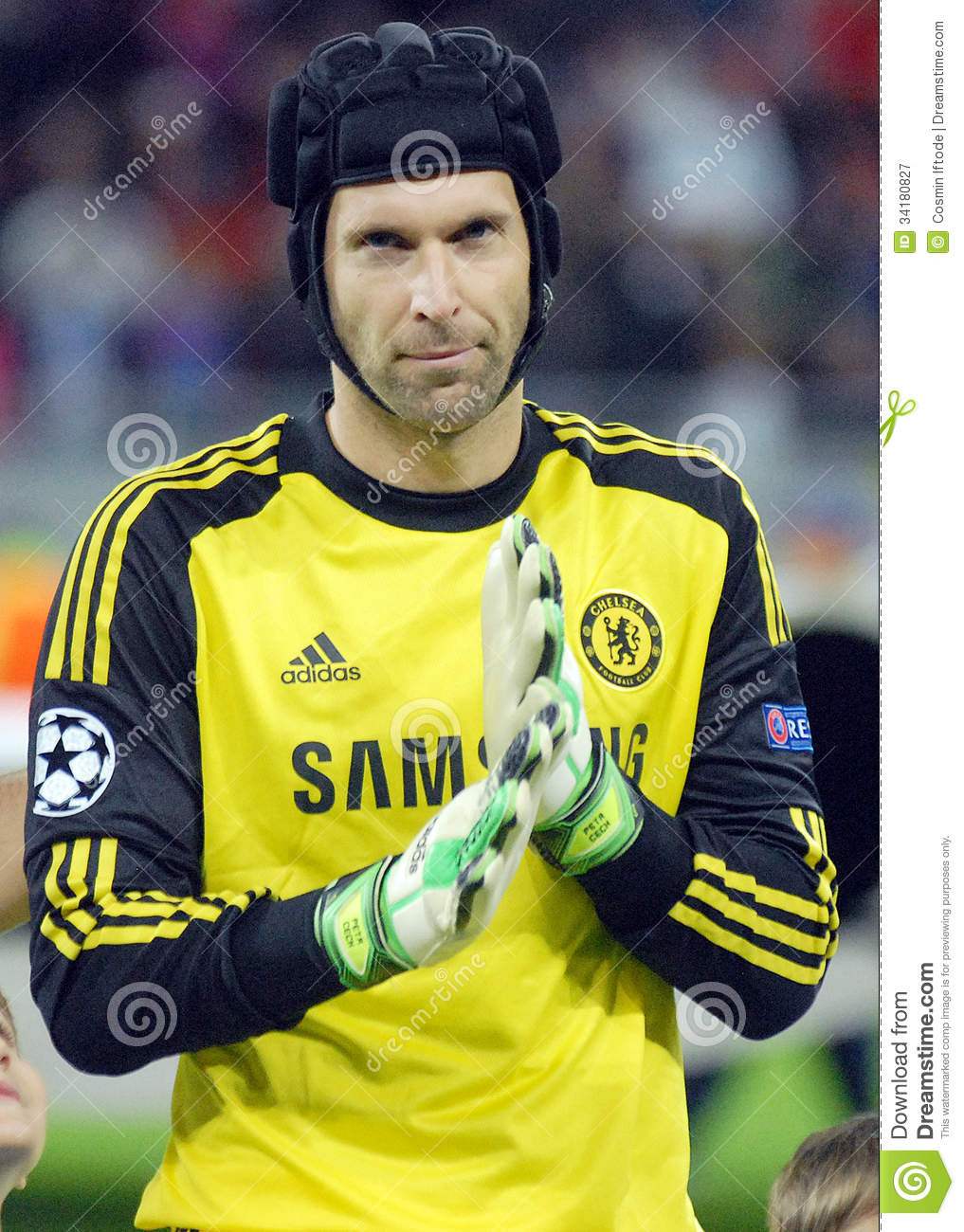 Petr Cech Chelsea Editorial graphy Image