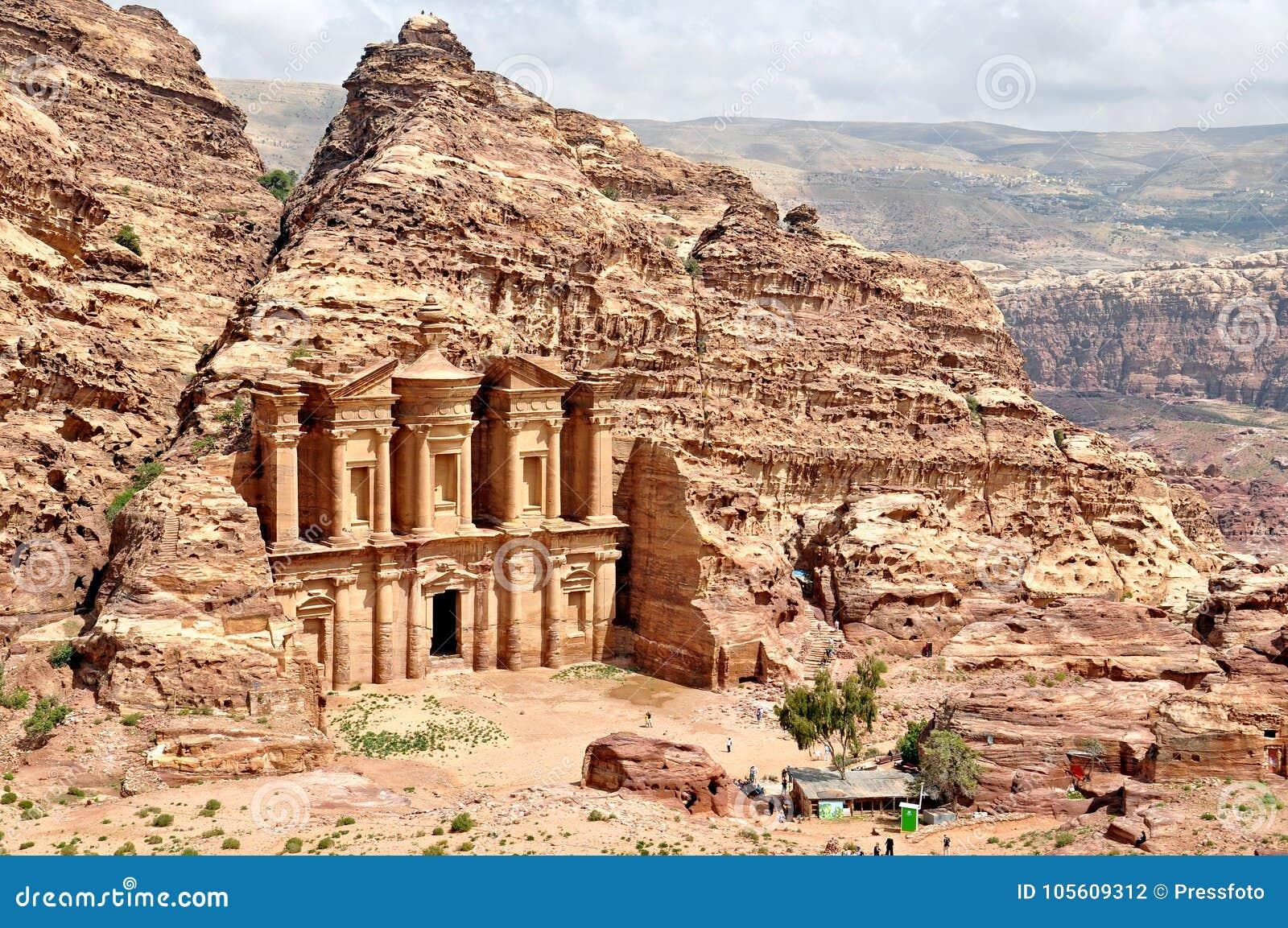 Petra, de Verloren stad in zuidelijk Jordanië