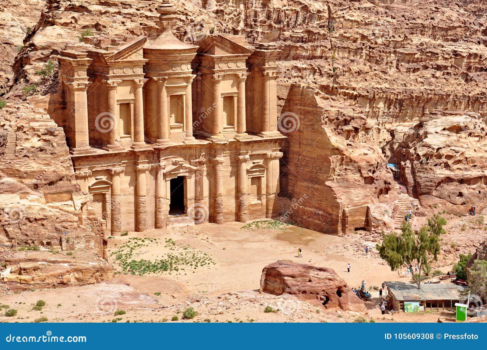 Petra den borttappade staden i sydlig Jordanien