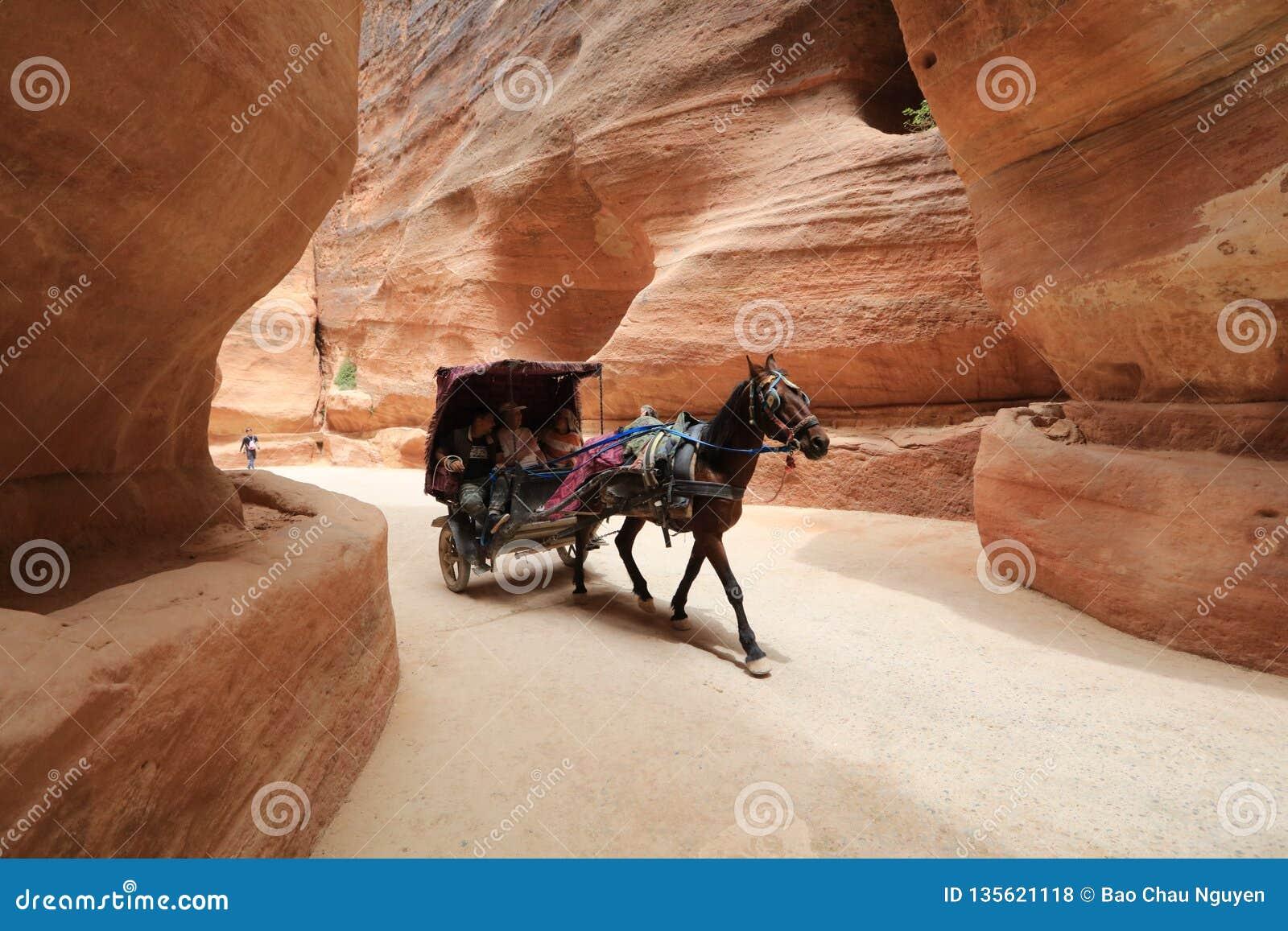Petra - Jordan, a pre- Roman historic hideaway