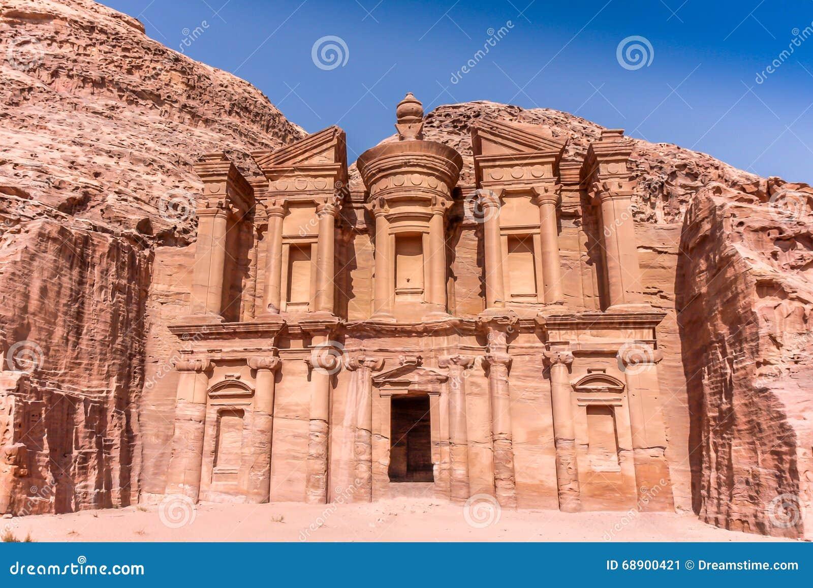Petra Jordan Temple