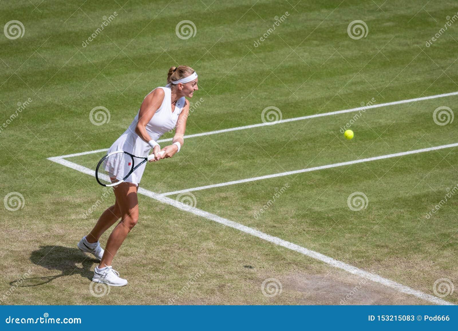 Petra Kvitova på Wimbledon