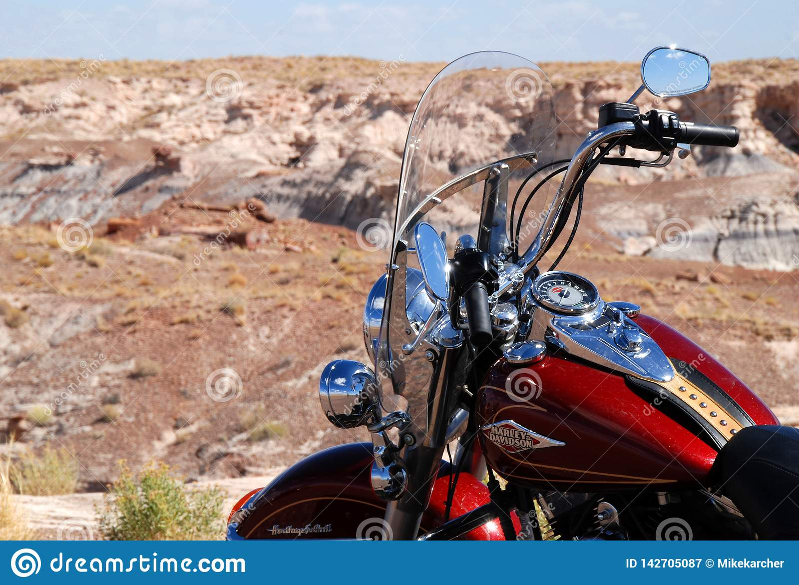 Harley Davidson Arizona >> Harley Davidson In The Desert Editorial Photography Image