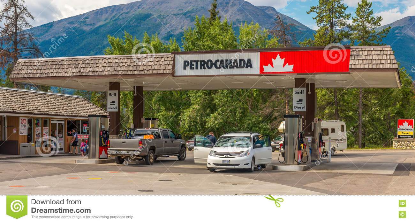 Petro Canada Jasper National Park