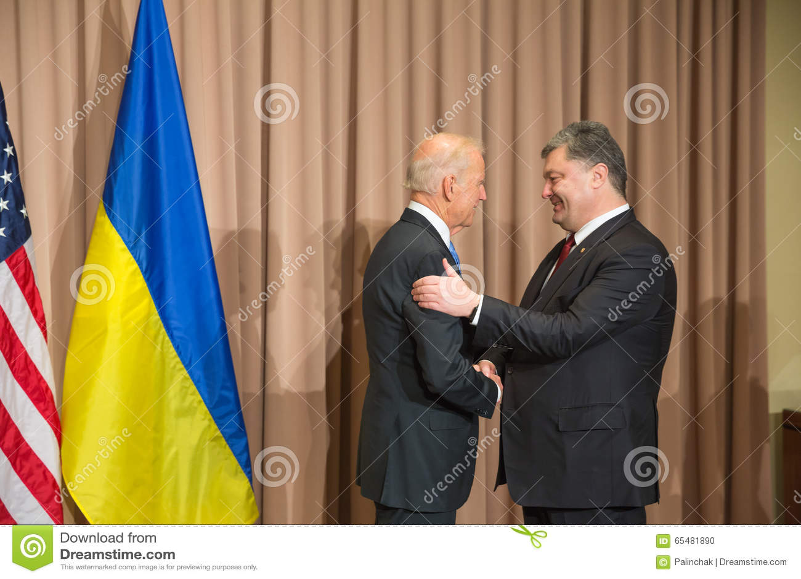 Petro Poroshenko i Joseph Biden
