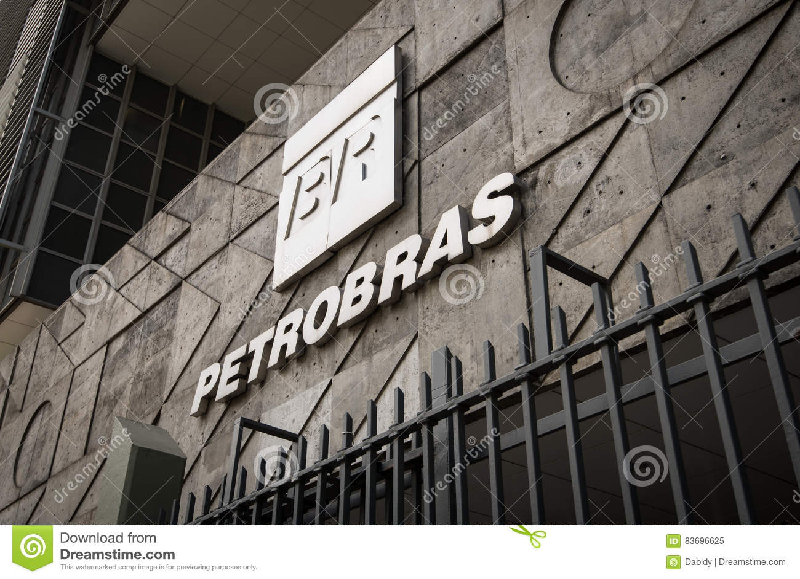 Petrobras Company Logo editorial image  Image of petrobras