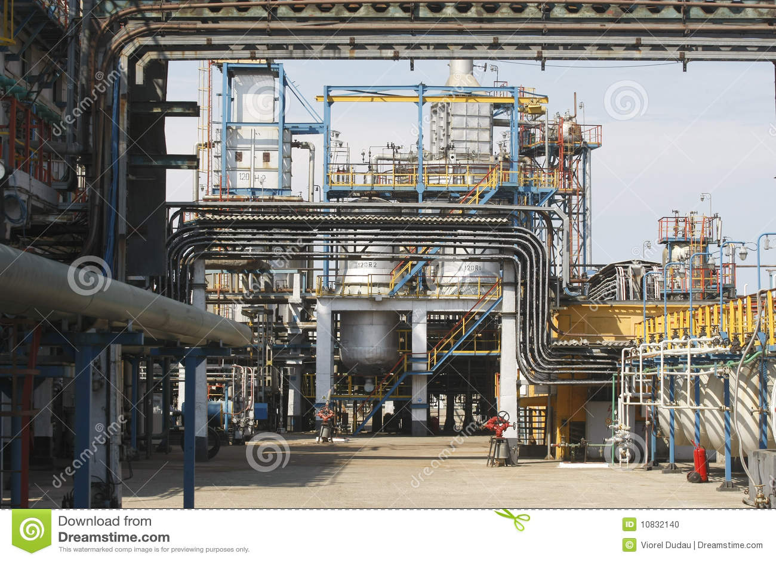 Petrochemical масла пускает рафинадный завод по трубам