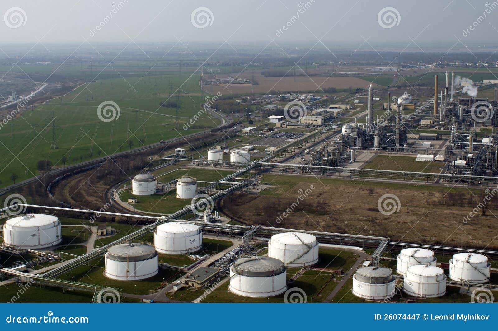 Petrochemische Raffinerie