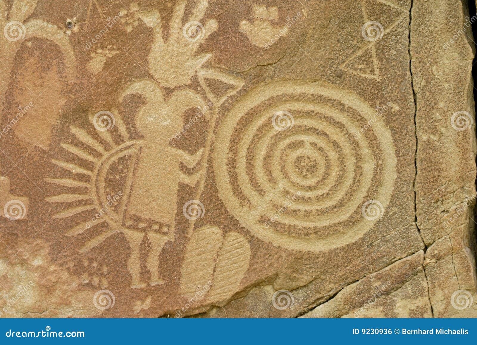 Petroglyph Kokopelli