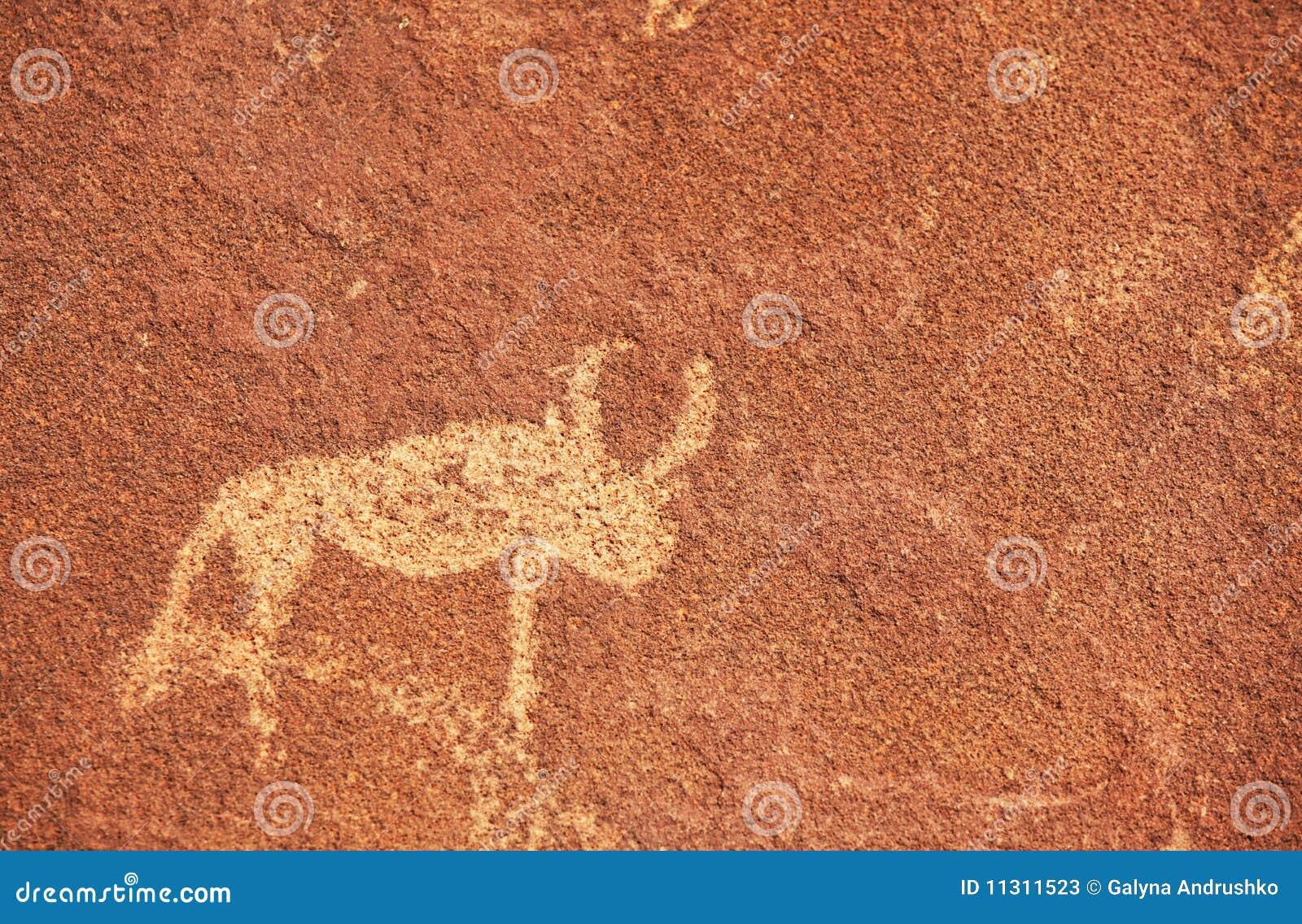 Petroglyphebeschaffenheit