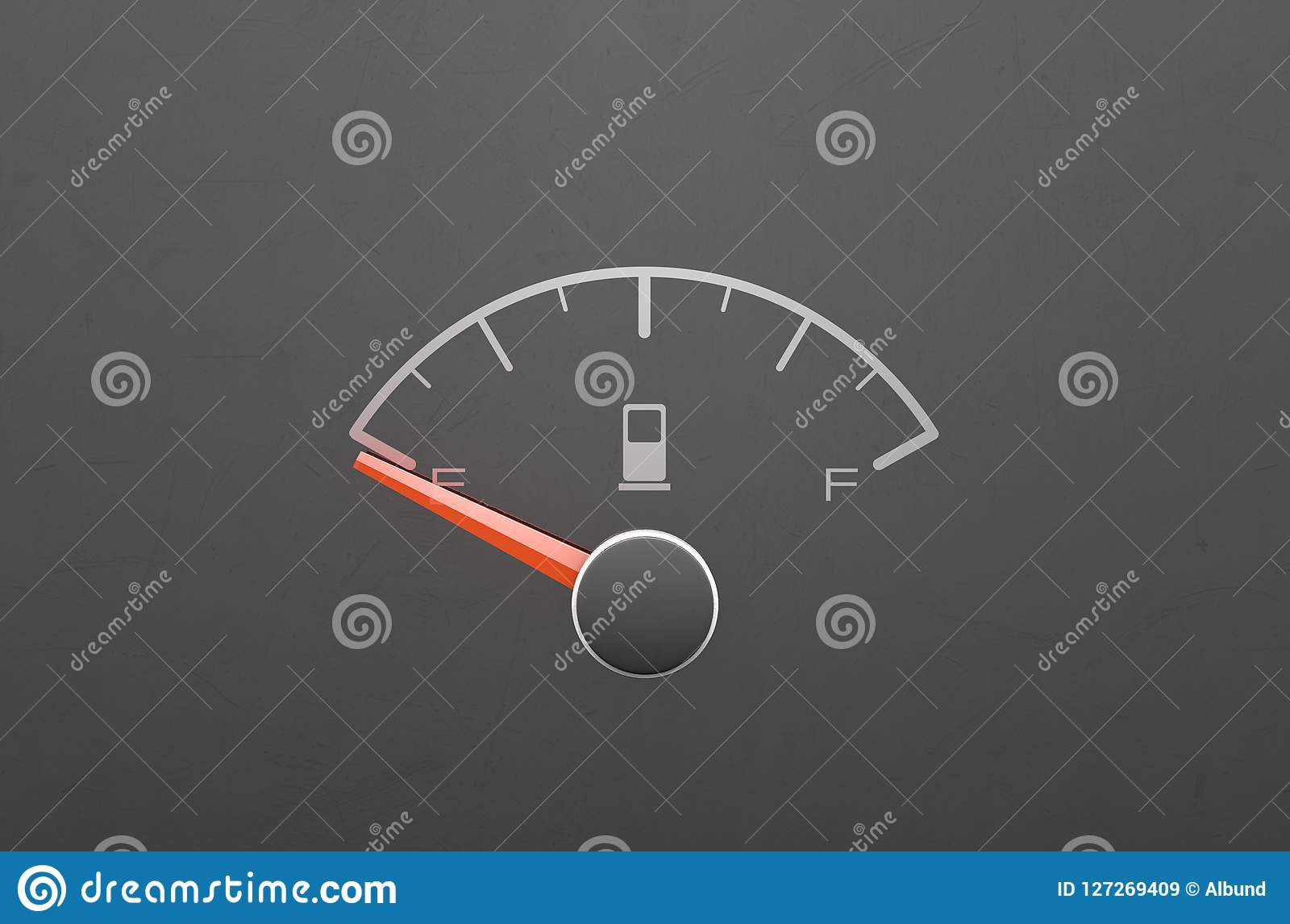 Petrol Gage Empty