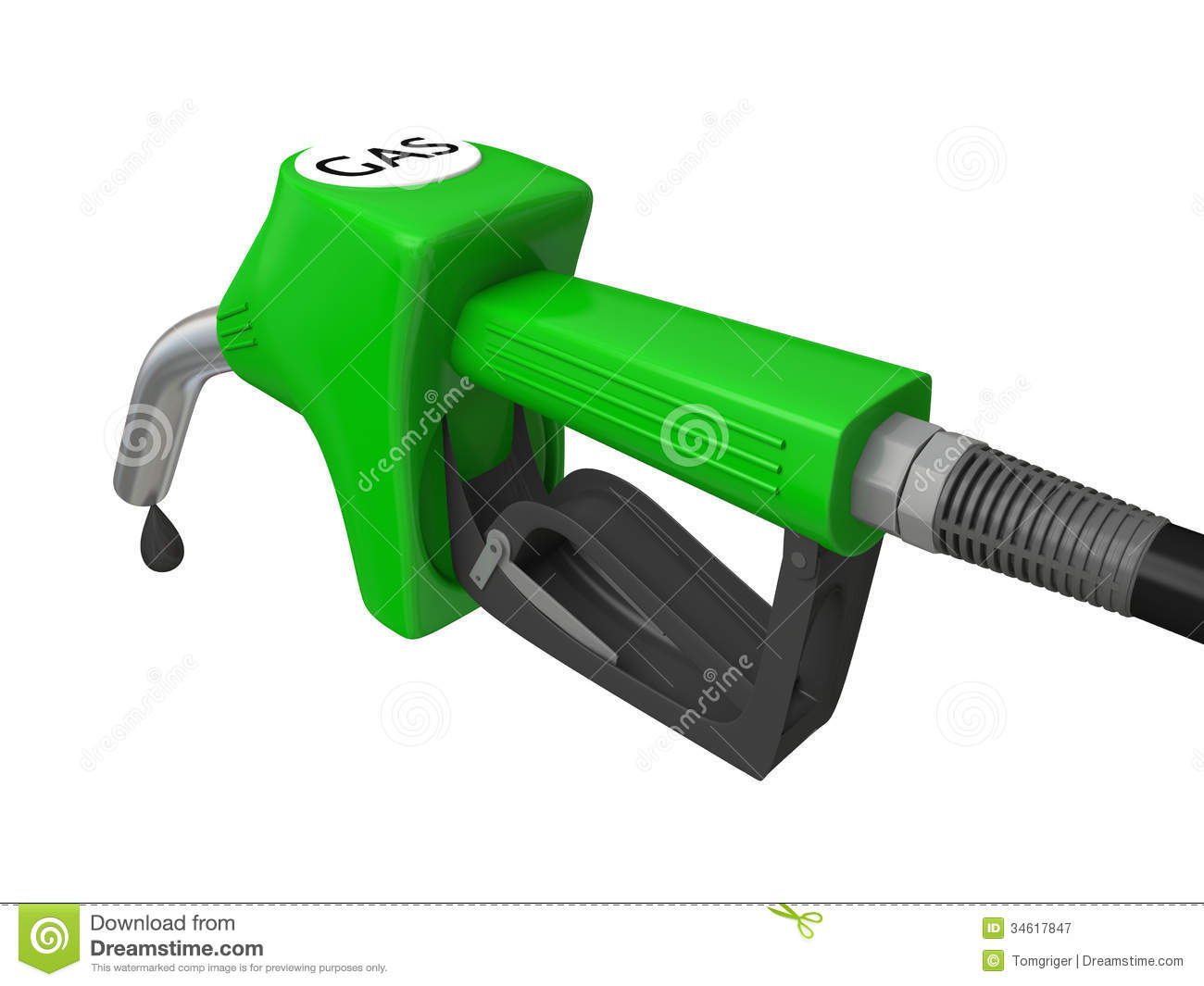 green or gasoline Chlorine gas is green, and there are probably many others.