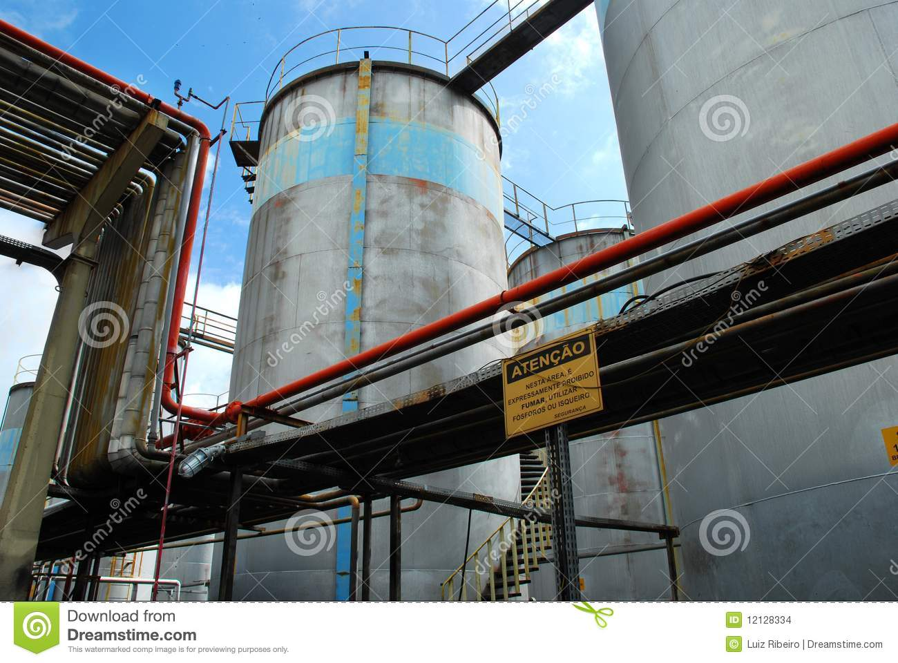 Petroleum stock images image 12128334 for Motor oil storage container
