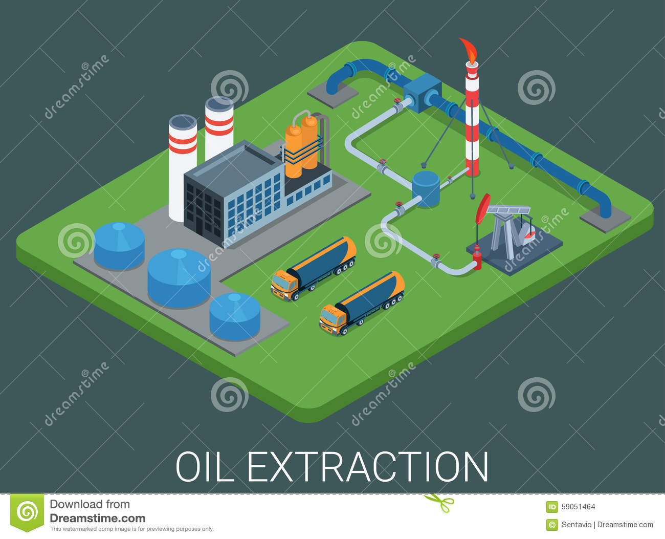 oil extraction transport pipeline refinery power e vector Oil Derrick Clip Art Outline oil derrick clipart free