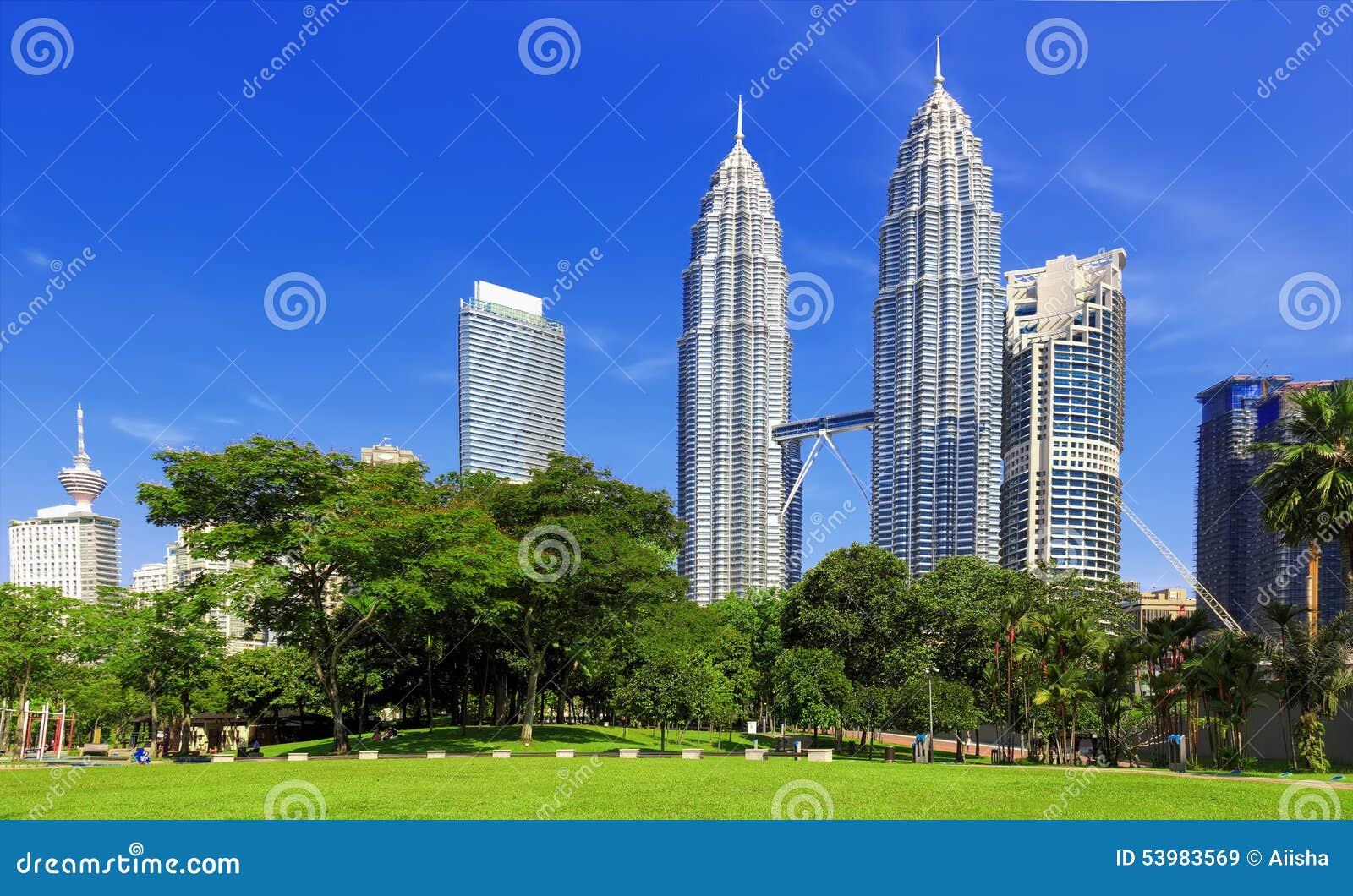 Petronas Twin Towers in Kuala Lumpur - KLCC Attractions