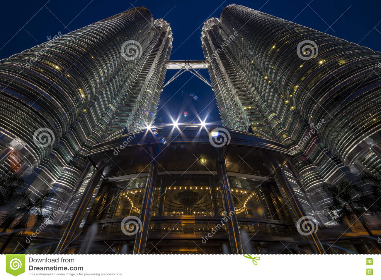 Petronas twin tower at blue hours time stock image image of royalty free stock photo buycottarizona Gallery