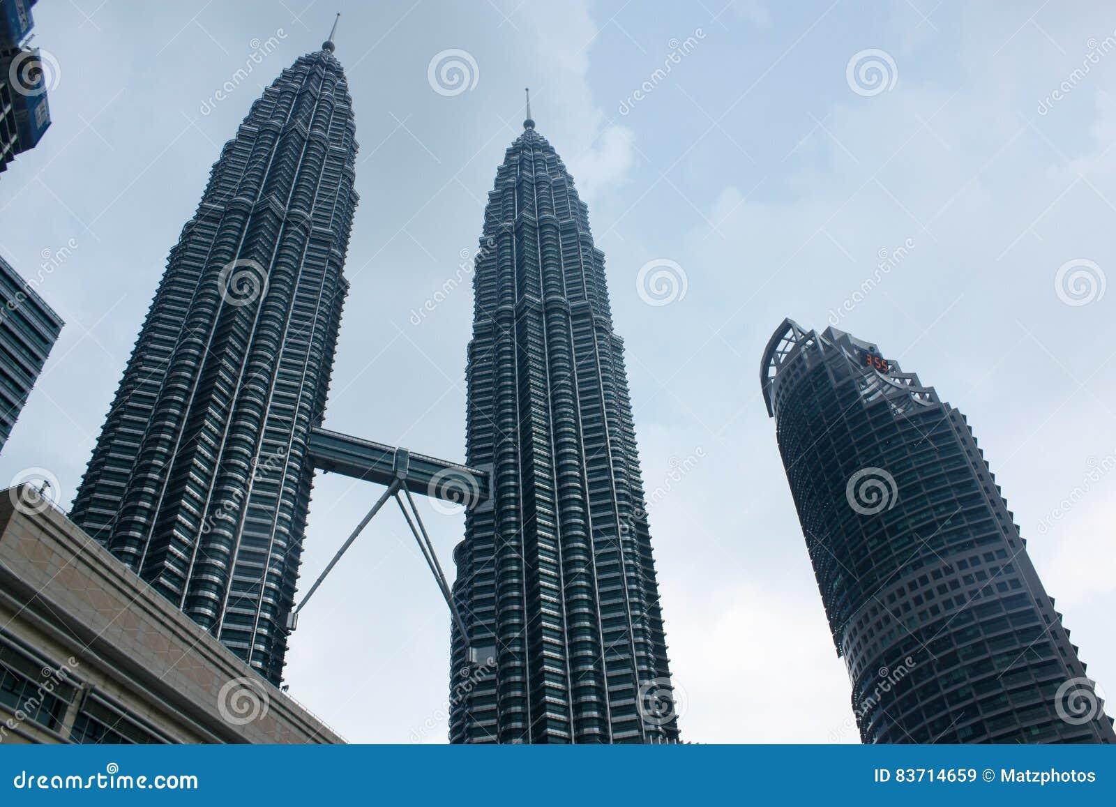 Petronas Twin Towers Editorial Stock Image