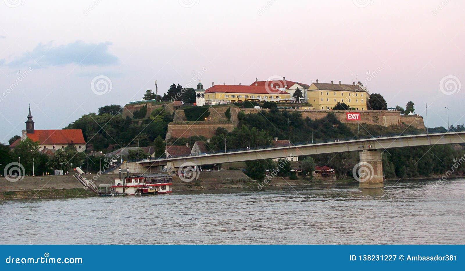 Petrovaradin-Festung nahe Novi Sad, Serbien