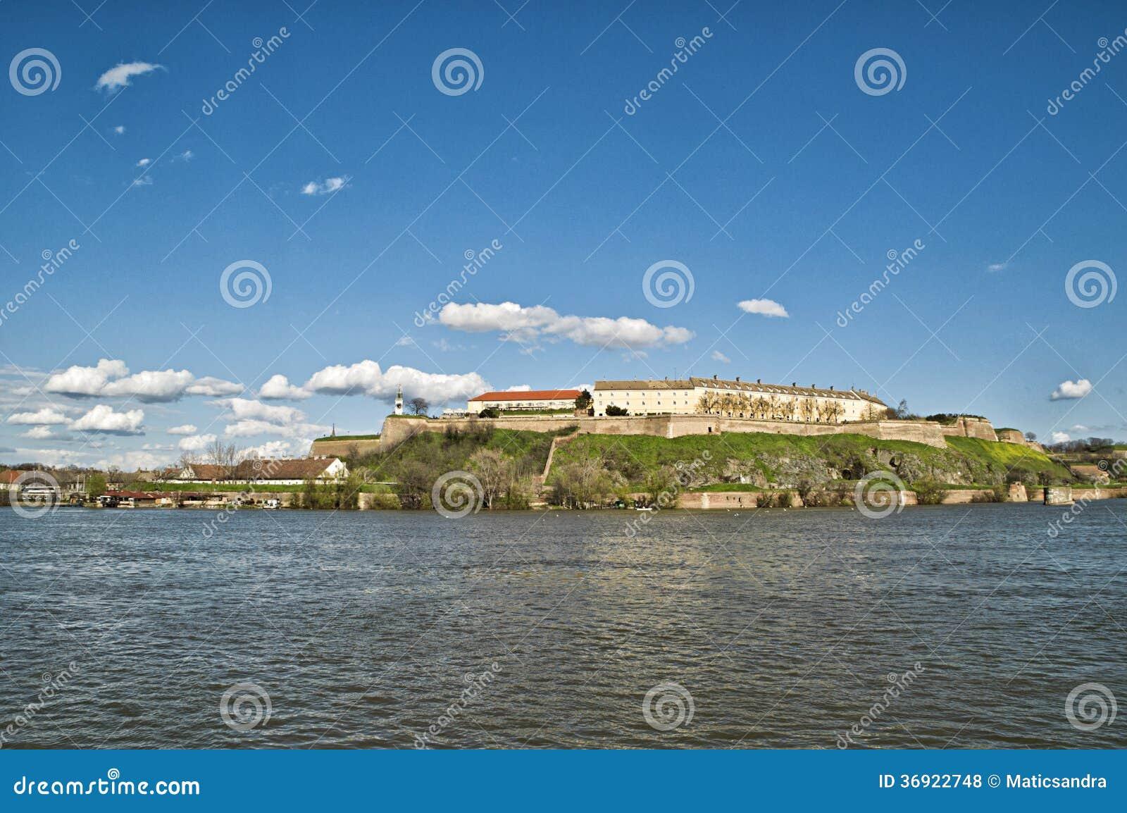 Petrovaradin forteca w Novi Sad, Serbia.