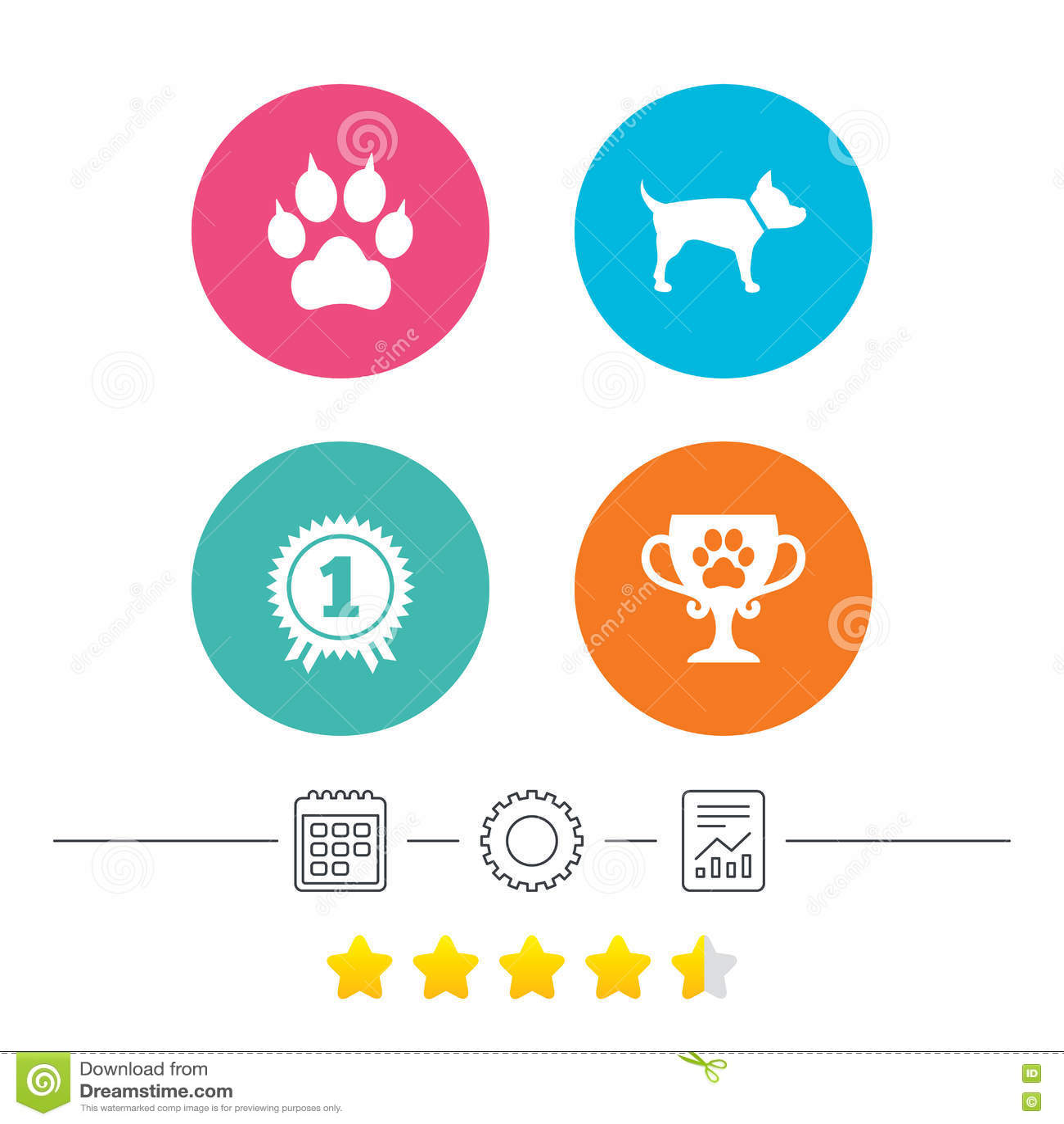 Pets иконы Лапка кота с знаком муфт