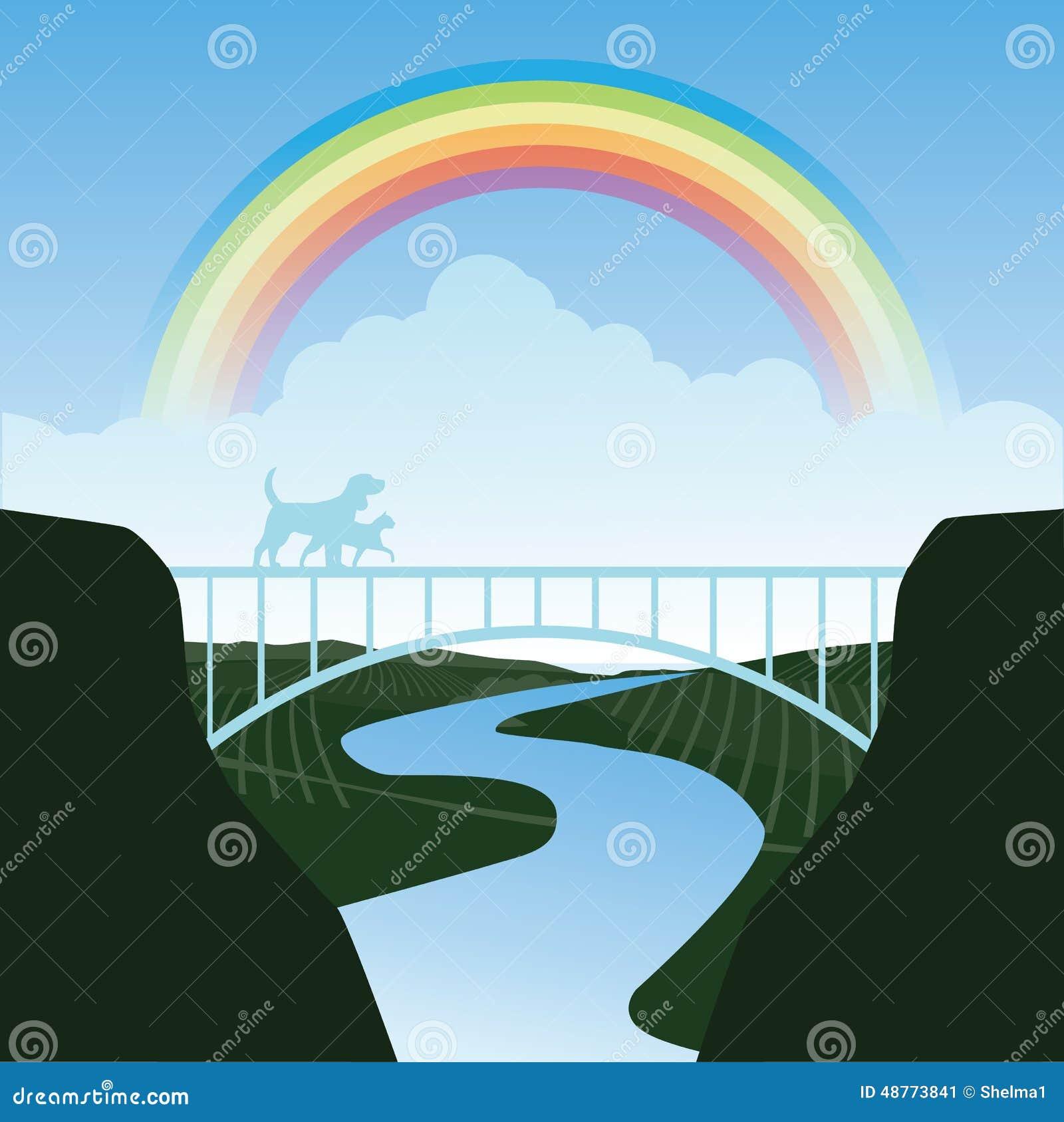 rainbow bridge stock illustrations 406 rainbow bridge stock rh dreamstime com Wood Bridge Clip Art London Bridge Clip Art