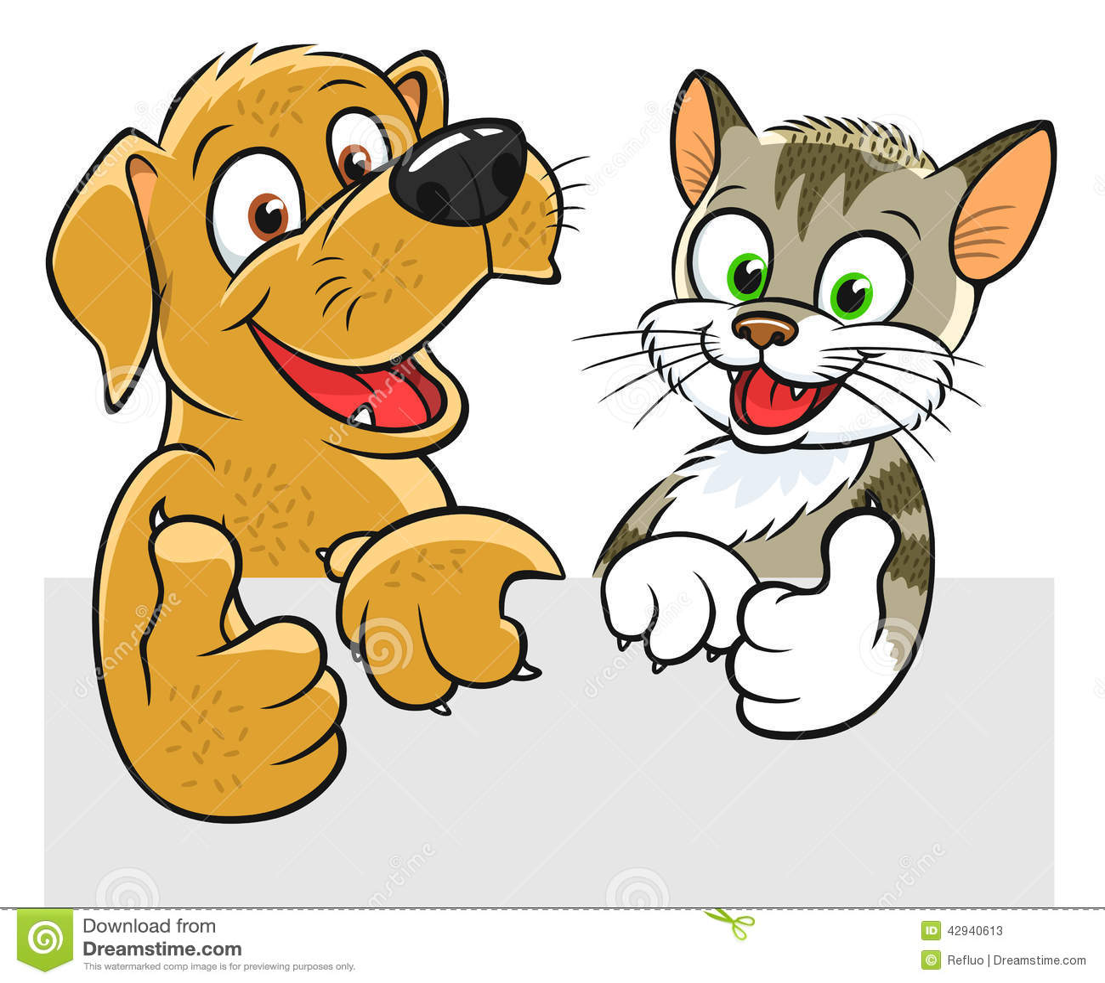 Happy Cat Clipart Free