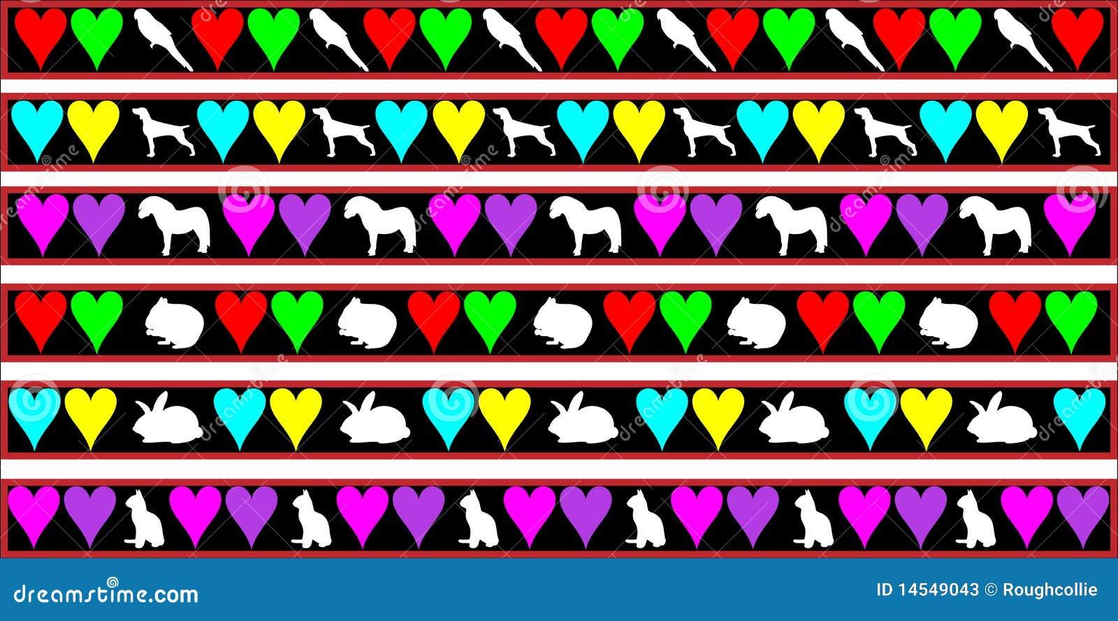 pets  dog  cat  rabbit border stock photos