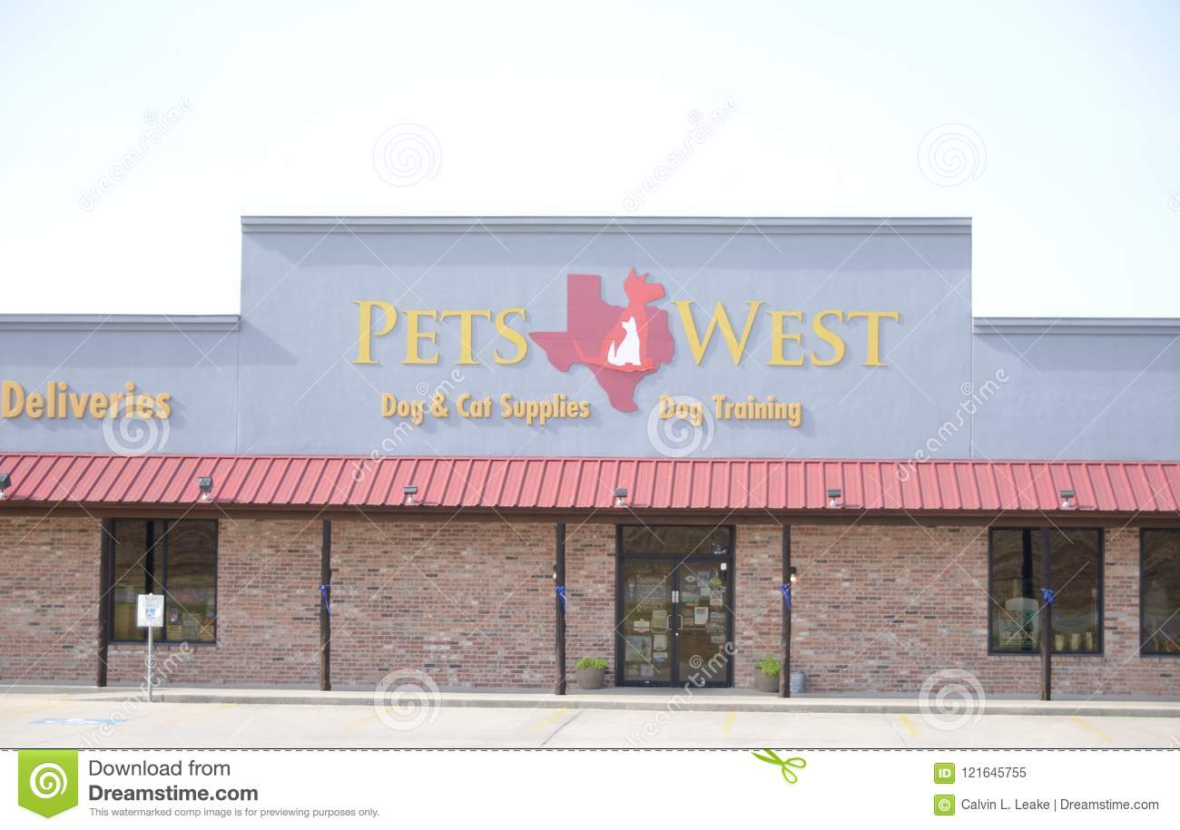 Pets West, Fort Worth, Texas Editorial Image - Image of high, food