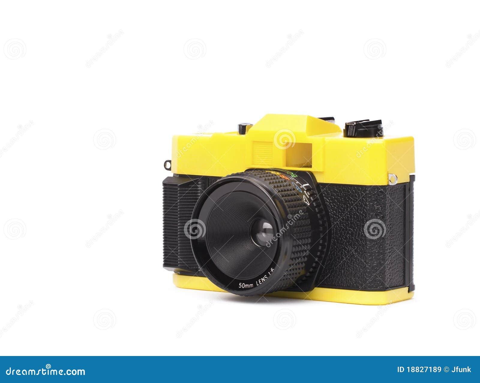Peu d appareil-photo en plastique