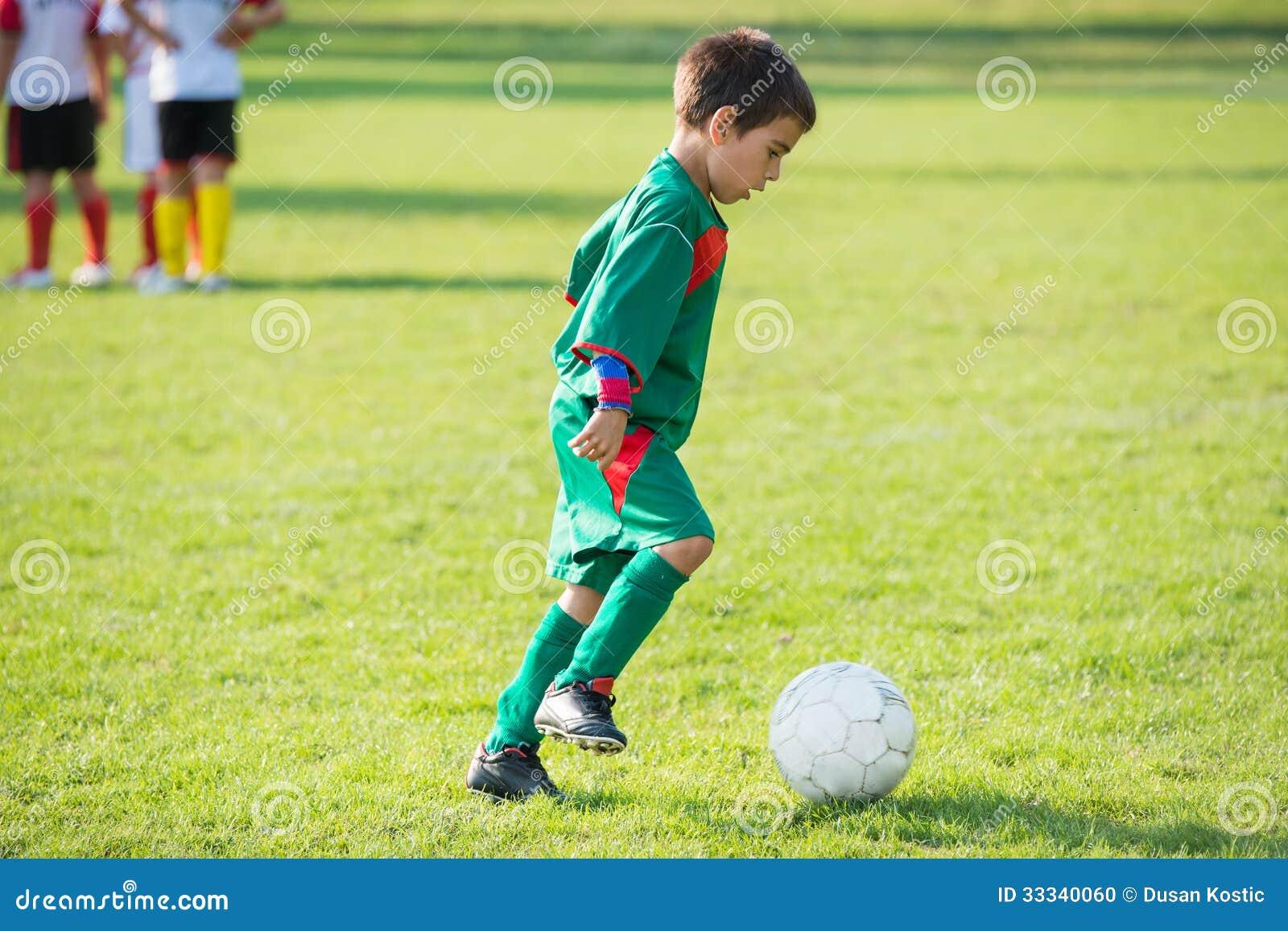 Peu de joueur de football