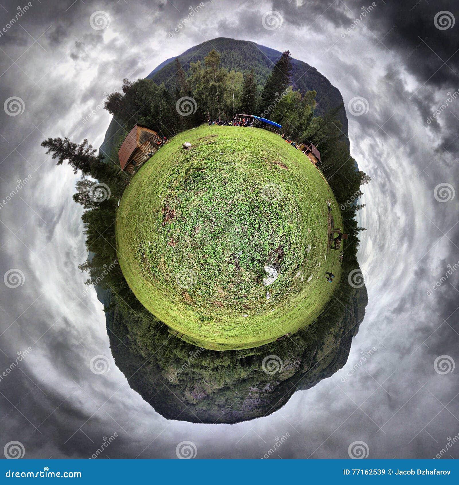 Peu de planète verte