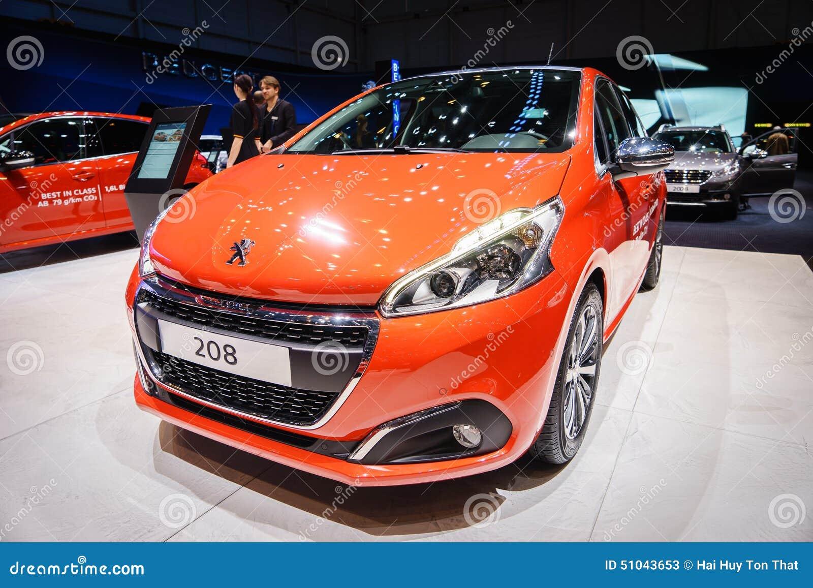 Peugeot 208, Motorowy przedstawienie Geneve 2015