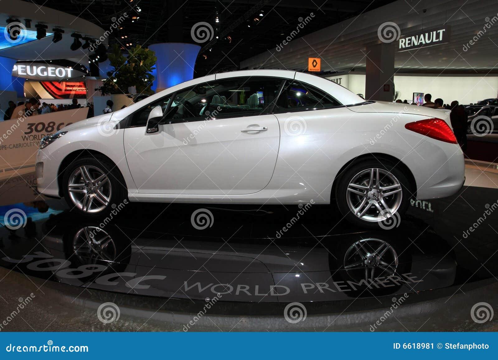 A Peugeot nova 307 centímetros cúbicos